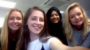 Worried about going on placement? Don't! Look how happy we are!