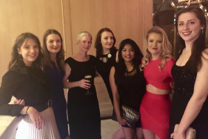 It's not all about the work – here are the female members of the Notch team at the Christmas party!